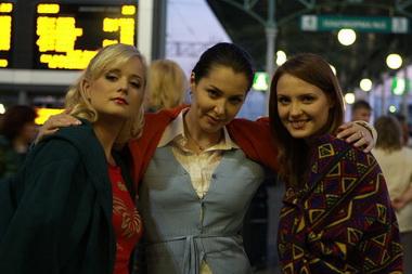Алина Сандрацкая и Юлия Пожидаева