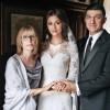 Вера Глаголева , ее дочь Анастасия и муж Александр Шубских.