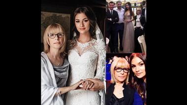 Вера Глаголева и ее дочь Анастасия Шубских.